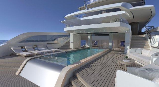Turquoise Yacht Projet Atlas : Le Super Yacht qui se refuse la monotonie
