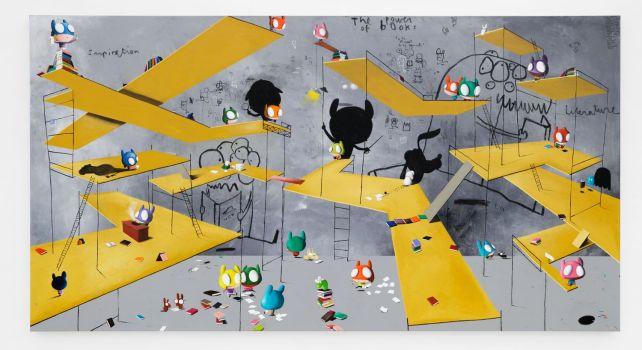 «Once Upon a Time The French Literature» : Edgar Plans présente son nouveau projet à la galerie Almine Rech Paris