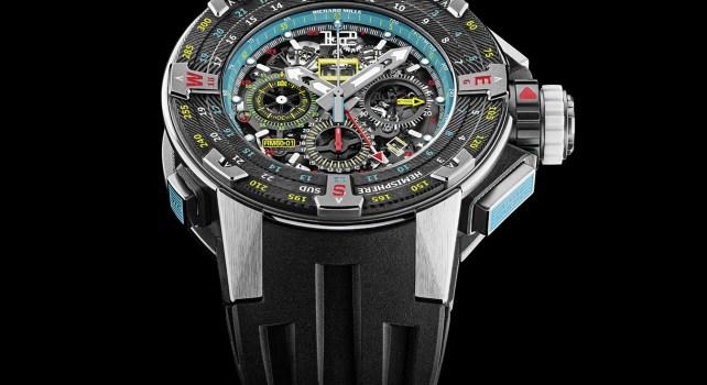 Richard Mille 60-01  Automatique Chronographe Flyback «Les Voiles de St Barth» : Une édition exclusive pour honorer la course maritime