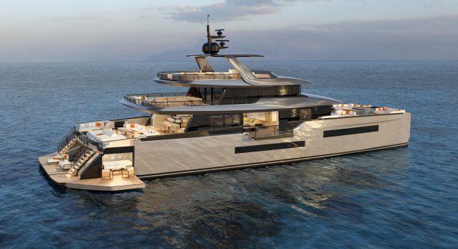 Isa Yachts «Zeffiro» : Le catamaran de prestige qui se transforme en club de plage