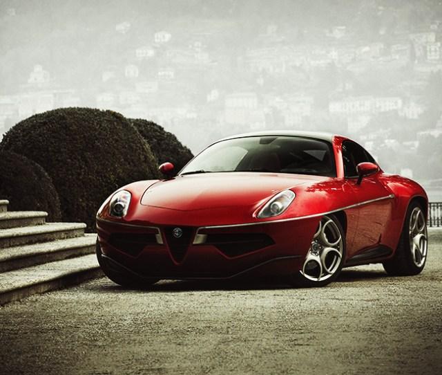 Production Model Alfa Romeo Disco Volante By Carrozzeria Touring Superleggera
