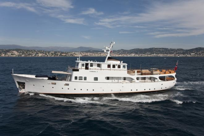 Asia Marine started representing Fraser in February 2018 and current charter listings include the 105ft Camara C, built in 1961 and last refitted in 2019