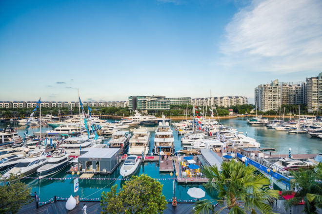 ONE˚15 Marina Sentosa Cove hosts the 10th Singapore Yacht Show in March