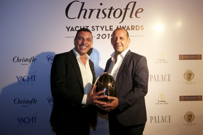 Winners at the 2019 Christofle Yacht Style Awards in Phuket
