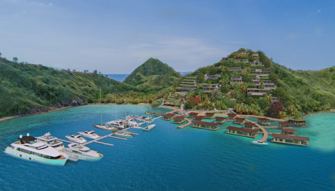 Yacht Sourcing is helping develop the Escape Marina in Flores