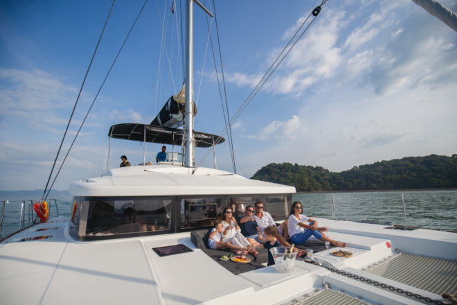 Lagoon catamarans are a core part of the Simpson Yacht Charter fleet