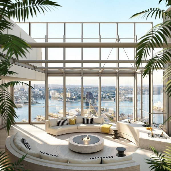 The Skyhomes follow the Residences One penthouse, which sold for A$140 million
