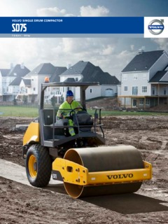Compactor Rollers Volvo CE Specifications MachineMarket