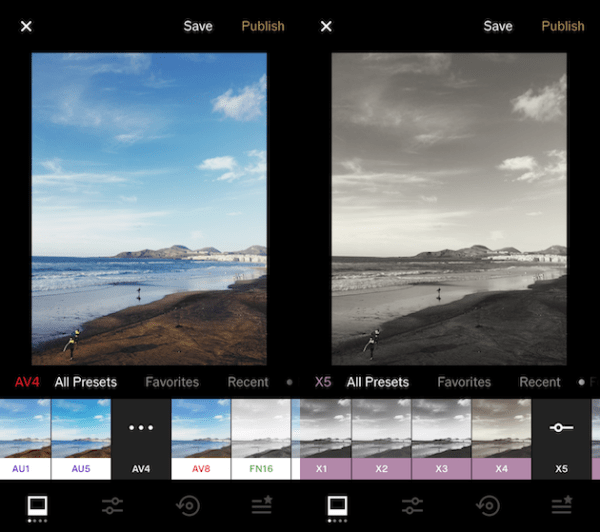 Best photo filter apps for creative iPhone photos