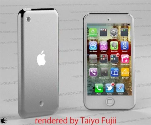 Concept nuovo iPod Touch 5 generazione