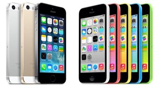 iphone 5s 5c - Novos iPhones devem chegar ao Brasil dia 15 de novembro