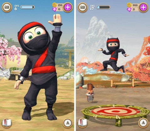 Zynga Acquires Company Behind  Clumsy Ninja  App   Mac Rumors clumsyninja