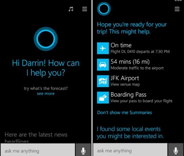 Microsoft Announces Siri Competitor Cortana Coming With Windows Phone 8 1 Macrumors