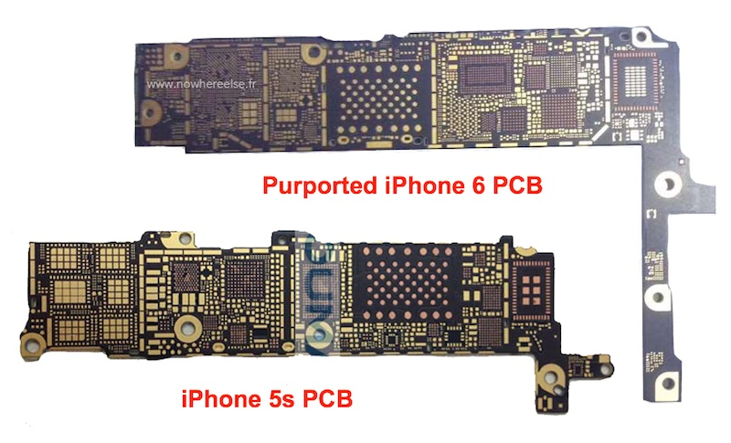 Bare iPhone 6 Logic Board Surfaces, Claimed to Support NFC