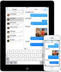 Apple affronterà la causa sopra ledizione di iMessage di Telefono Commutazione