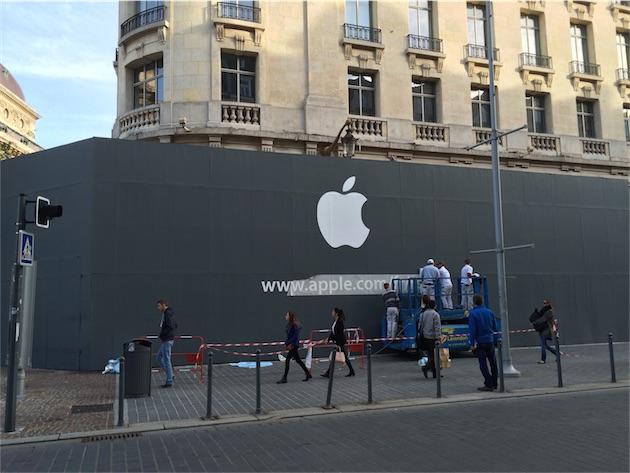 Apple che apre nuova vendita al dettaglio a Lille, Francia sabato 15 novembre [blog del mackintosh]
