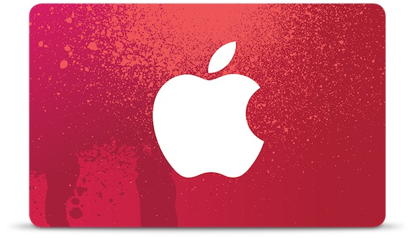 Apple Details Special RED Shopping Day Gift Card Amounts