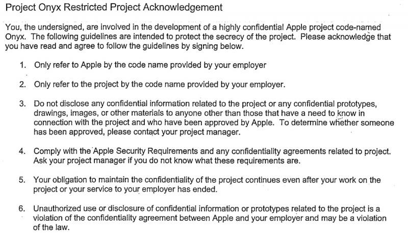 Gli atti giudiziari avanzati la GT non sigillati danno la comprensione nelle pratiche aziendali di Apple