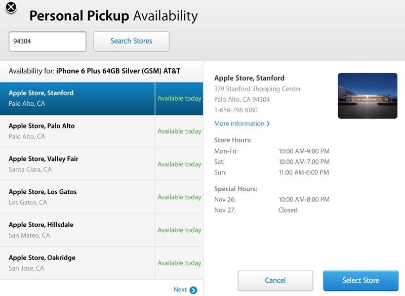 il iPhone 6 volte più di trasporto migliora leggermente, ora i 7   10 giorni per il modello 16GB