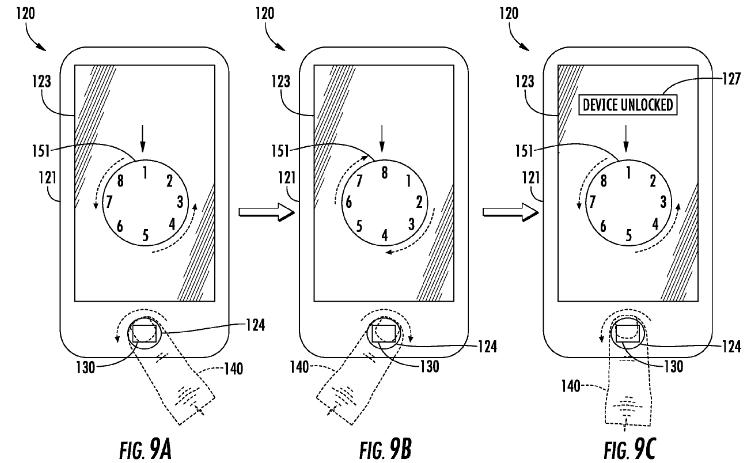 Apple che ricerca la sicurezza migliorata di identificazione di tocco facendo uso del dito fa segno allinseguimento [blog dellIOS]