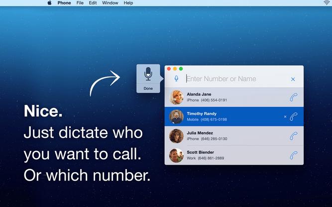 """""""DockPhone"""" aggiunge il telefono che compone a Yosemite, escludente FaceTime [blog del mackintosh]"""