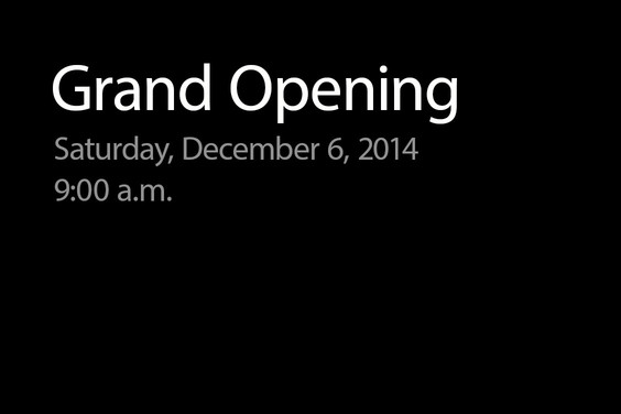Apple che apre nuova vendita al dettaglio a Toledo, Ohio sabato 6 dicembre [blog del mackintosh]