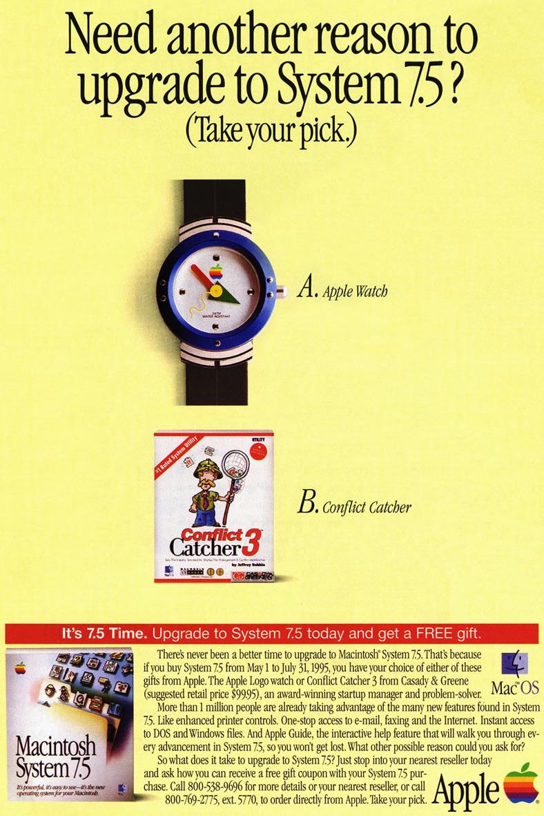 Orologi classici di Apple dal 1995 ancora una volta disponibili per la vendita [blog dellIOS]