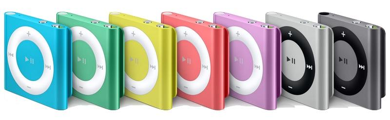 Le scarsità recenti di iPod shuffle dovuto il fornitore cambia, la sospensione non imminente
