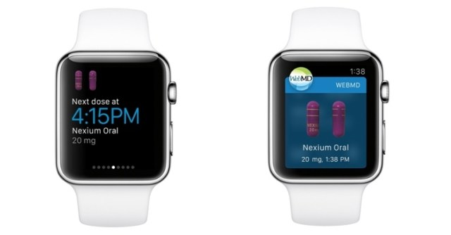 WebMD apple watch