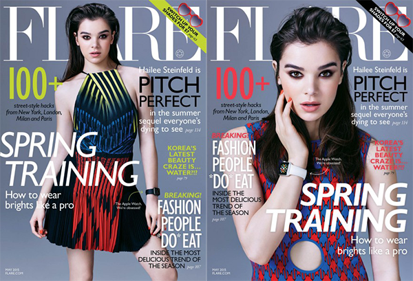 Apple Watch Featured on Cover of Canadian Fashion Magazine ...