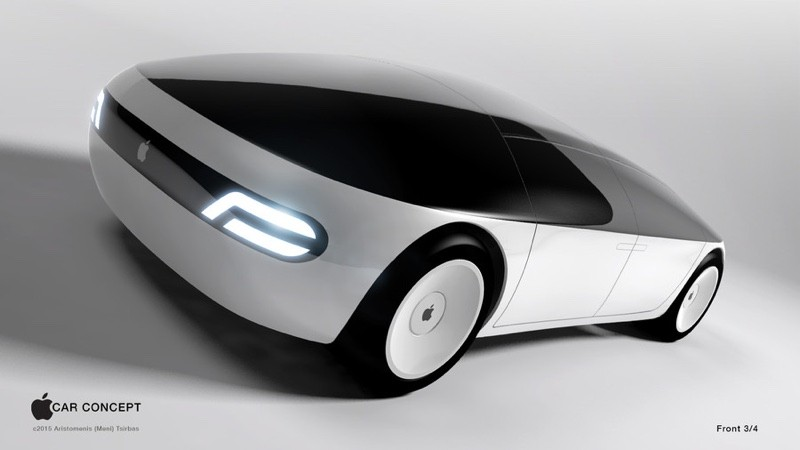 Copyright Apple Car Concept