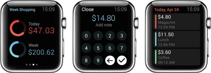 Pennies Apple Watch