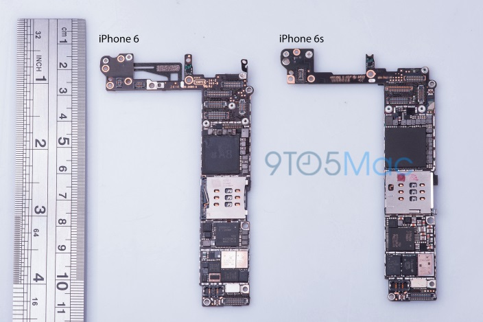 'iPhone 6s' Logic Board Suggests 16GB Base Model and Updated NFC Hardware  MacRumors