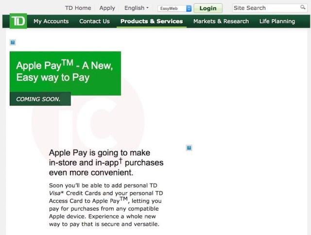 Apple-Pay-TD-Canada-Trust