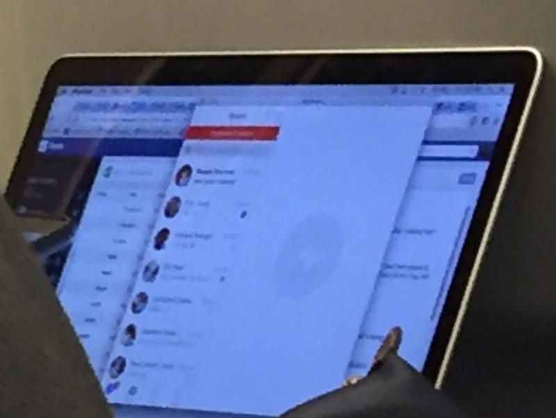 Desktop App del messaggero di Facebook per il mackintosh rivelatore in foto disgiunta