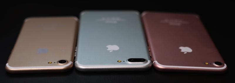 iPhone 7 three models