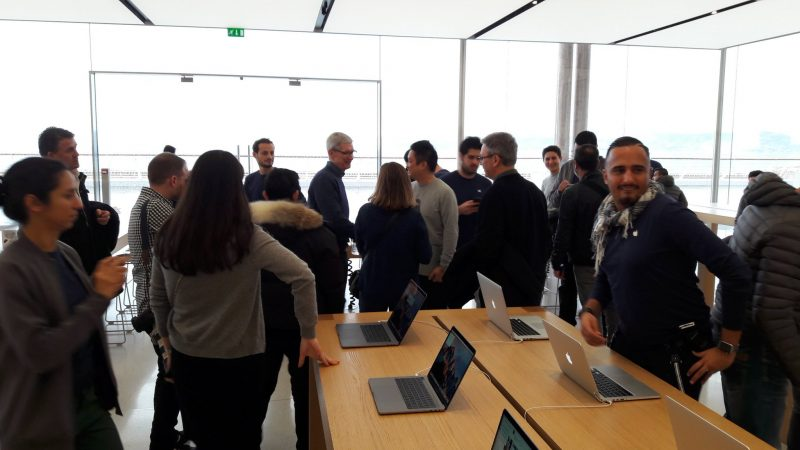 Tim Cook Drops in Unexpectedly at Apple Store in Marseille  France     Tim Cook Drops in Unexpectedly at Apple Store in Marseille  France   Mac  Rumors