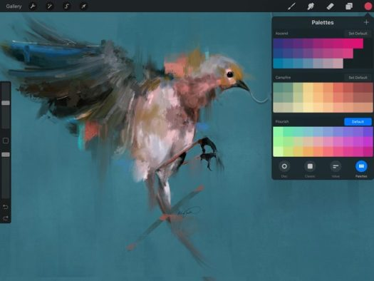 Procreate 4 for iPad Offers New Painting Engine, Layer Masks, Drag
