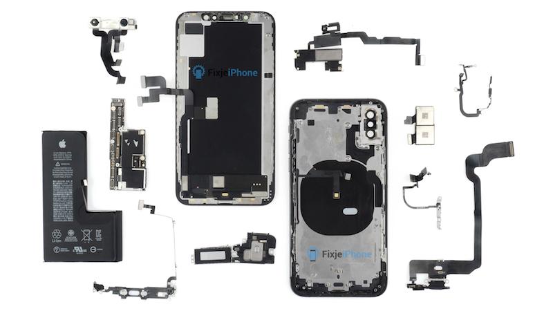 iPhone XS teardown all - فيديو يستعرض تفكيك آيفون XS لكشف مكوناته الداخلية مع مقارنته بآيفون X