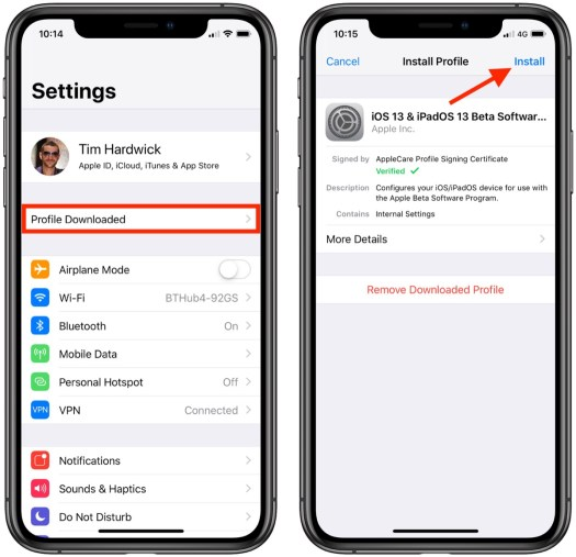 How to Install iOS 13 Public Beta on iPhone