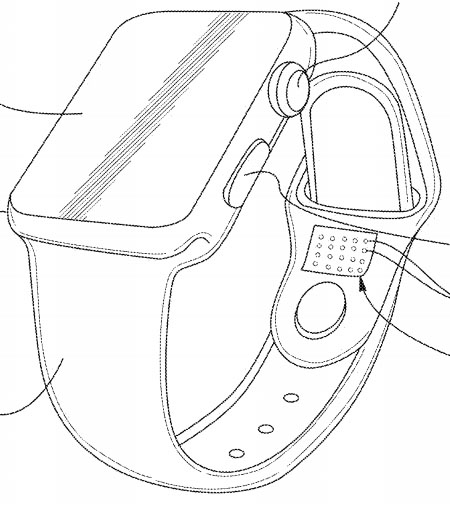 Apple Watch Bands With Self-Tightening, Skin Texture
