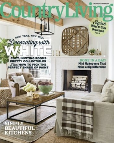 Country Living January/February 2016 Magazine