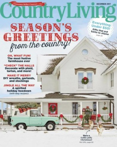Image result for country living december 2017