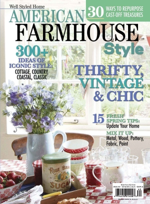 Cottages And Bungalows Magazine American Farmhouse Style Spring 2015 Issue Get Your Digital Copy