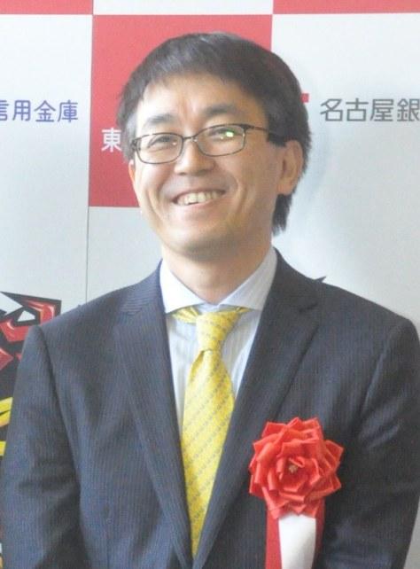 取材に応じる羽生善治竜王=名古屋市中区で2018年2月18日午前9時51分、三上剛輝撮影
