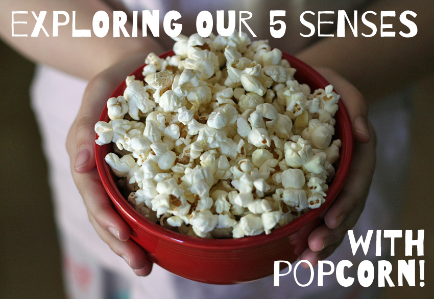 Exploring Our 5 Senses Popcorn Party Make And Takes