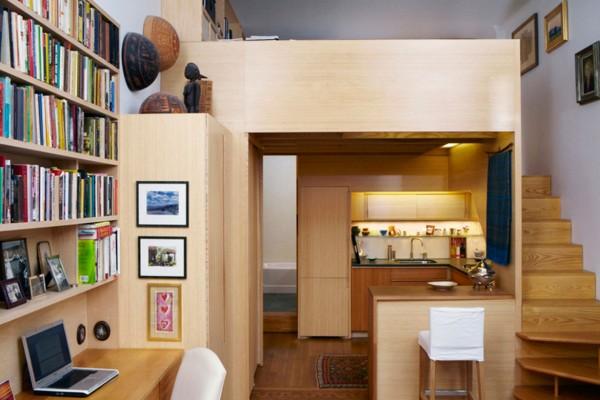 Seggerman Studio Apartment Nyc Loft Bed