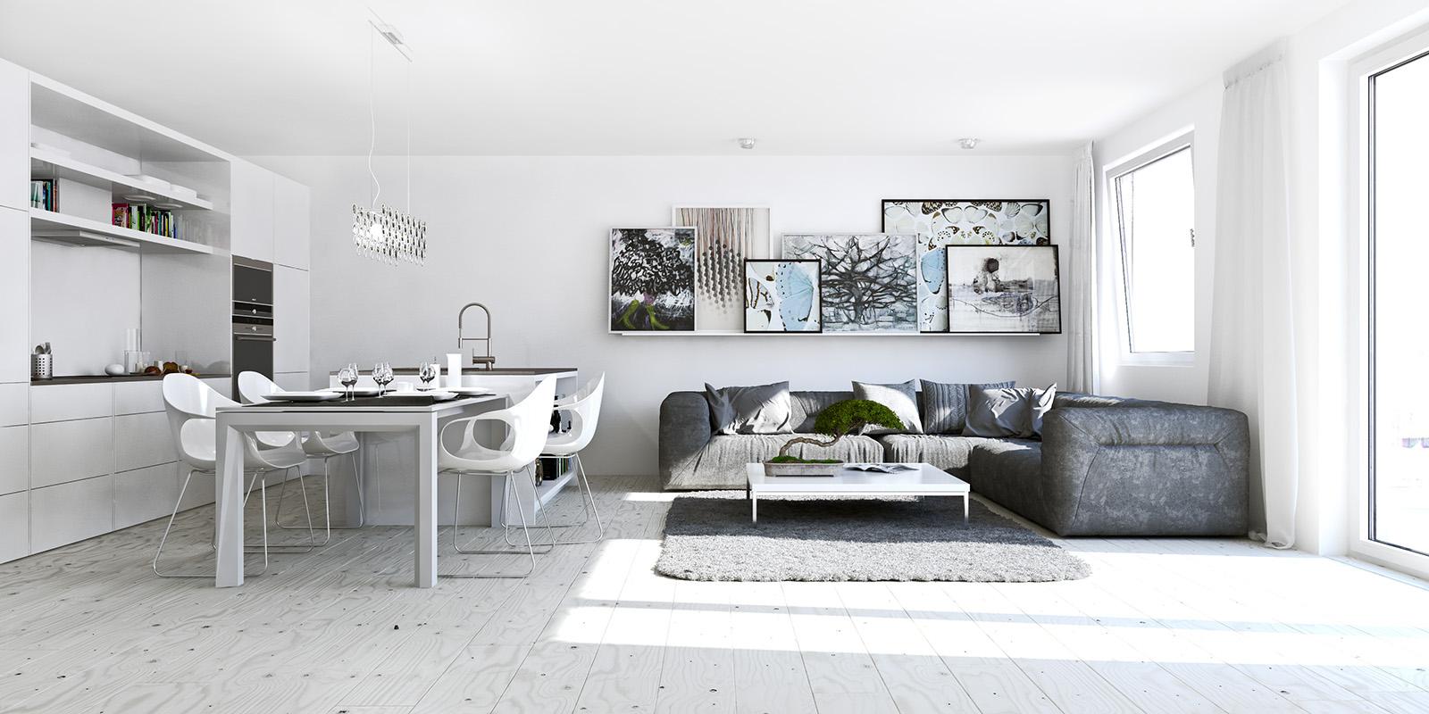 Studio Living Apartment Room