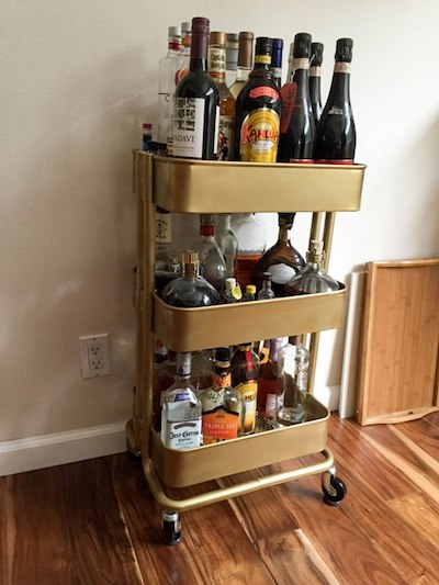 store your liquor at
