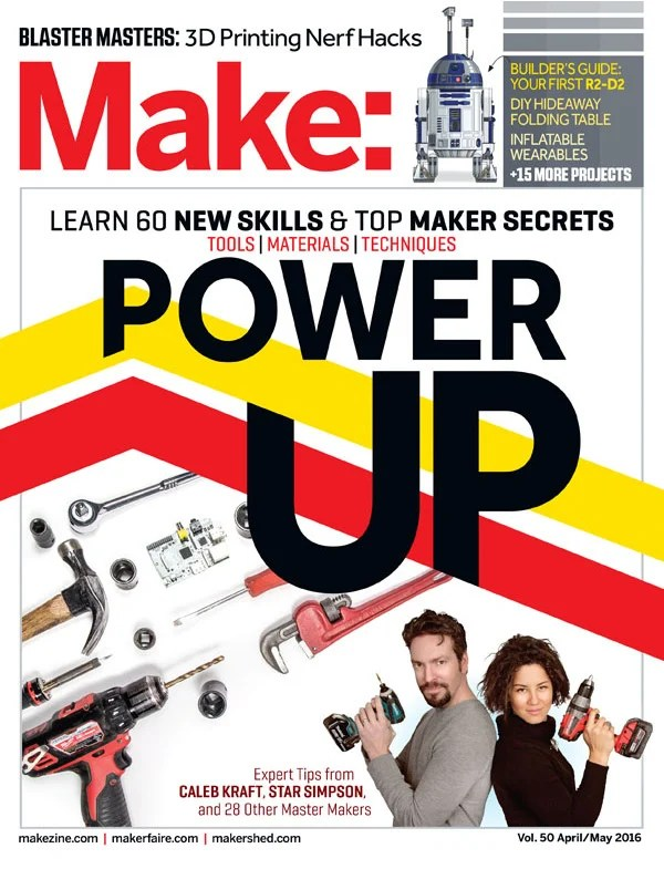 Make: Magazine Cover